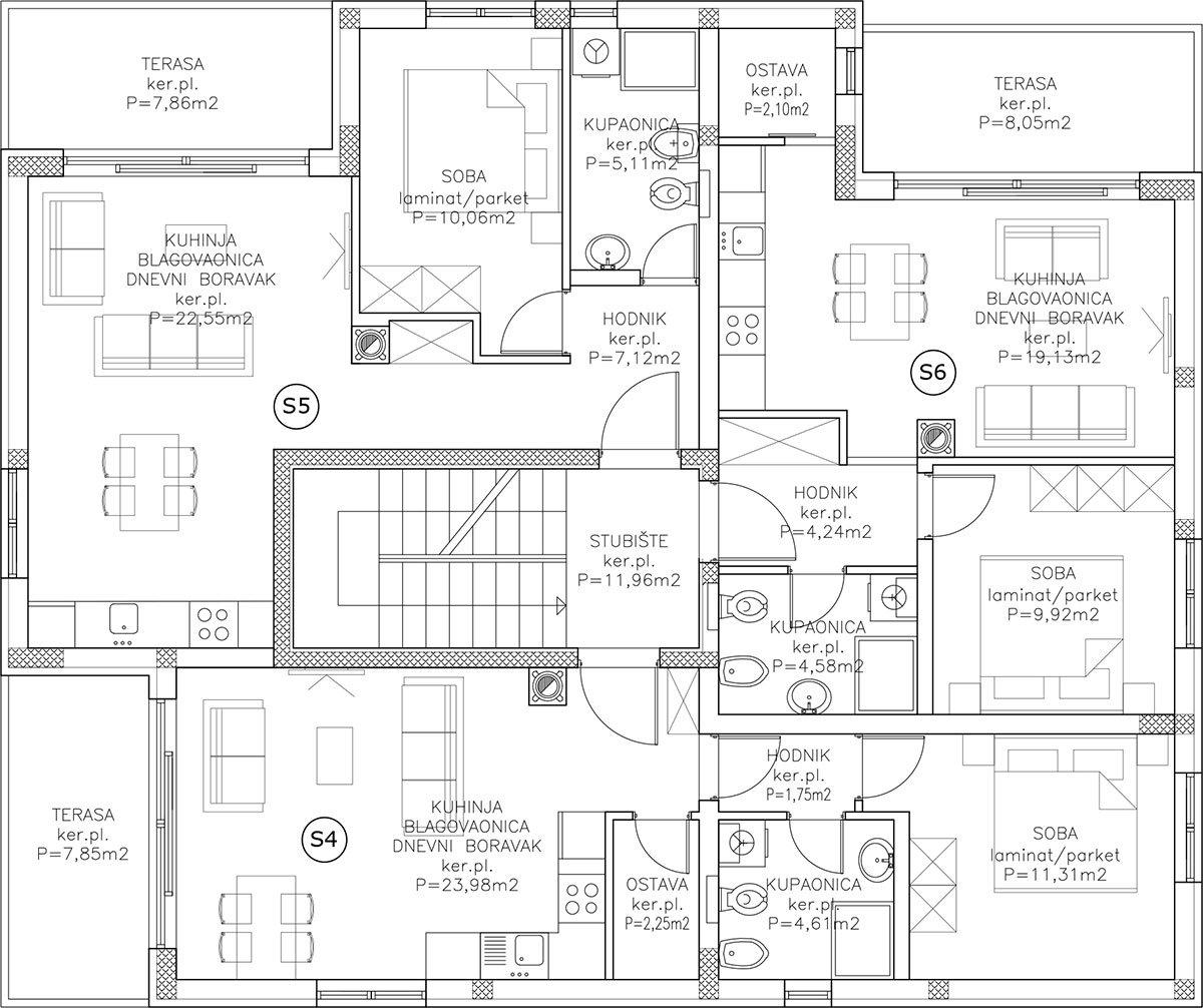 Edificio A appartamento 1 Primo