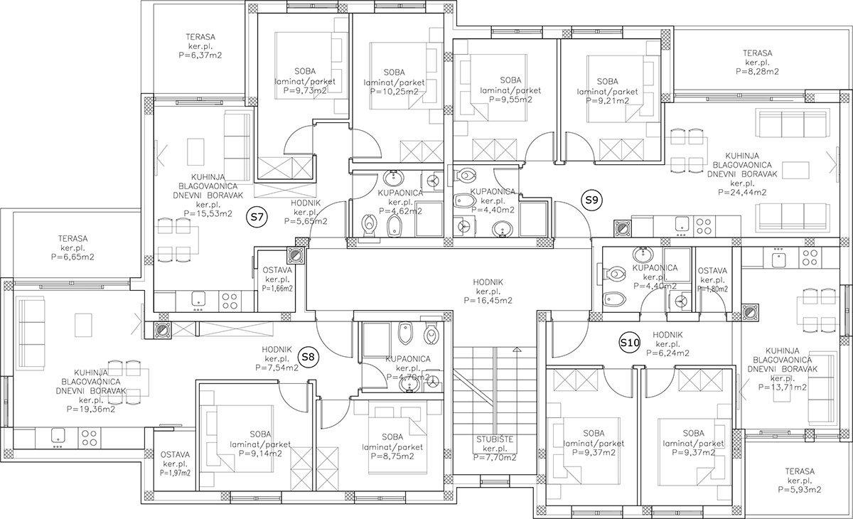 Edificio B appartamento 2 PAINO